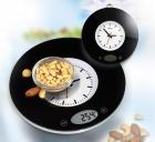 digitální kuchyňská váha a hodiny TRISTAR 2v1